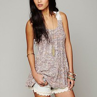 Free People Crochet Back Pullover Tank