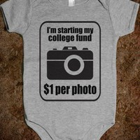 College Fund - Underlinedesigns - Baby Onsie