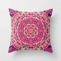 Mix #187 Throw Pillow by Ornaart | Society6