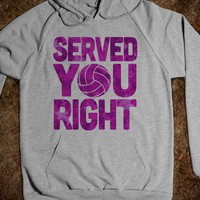 Served You Right (Hoodie) - Served You Right