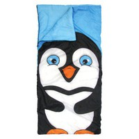 Pacific Play Tents Perfect Penguin Slumber Bag - Blue/Black