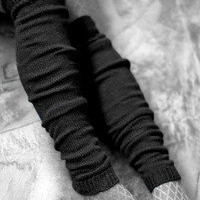 Socks  Socks  Long Orkney Angora leg warmers  Sock Dreams