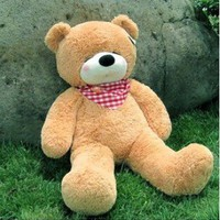 "85cm Giant Huge Big Soft PP Cotton Plush Sleepy Teddy Bear Toy Doll 32.7"" Brown"