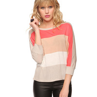 Colorblocked Slub Knit Top | FOREVER21 - 2000036563
