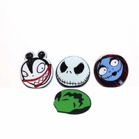 NBX – Character Heads Coaster Set Of 4 PCS | Thirteen Vintage
