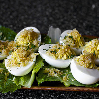 caesar salad deviled eggs | smitten kitchen