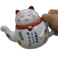 Lucky Cat Tea Pot