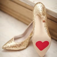 Wedding Shoe Heart Stoppers