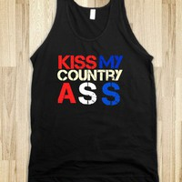 Kiss my country ass - Buddys