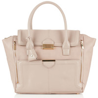 Winged Pushlock Tote - Topshop USA