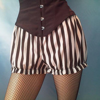 shortie stripe bloomers by loulahbelle on Etsy