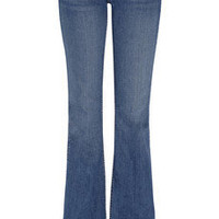 TEXTILE Elizabeth and James | Jimi mid-rise flared jeans | NET-A-PORTER.COM