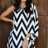 Head Over Heels For Chevron Dress | Hope's