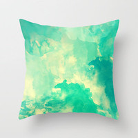 Underwater Throw Pillow by Galaxy Eyes | Society6