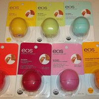 1 EOS Evolution Of Smooth lip balm 100% Natural *YOU CHOOSE* NEW* .25 oz