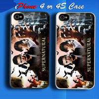 Supernatural Horror TV Movie Custom iPhone 4 or 4S Case Cover