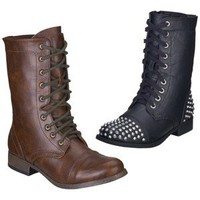 Women's Mossimo Supply Co. Kody Combat Boot - Assorted Colors