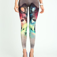 Mystic Wolf Leggings