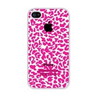 Amazon.com: Pink Cheetah Pattern rubber iphone 4 case - Fits iphone 4 & iphone 4s: Cell Phones & Accessories