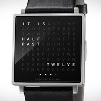 Qlocktwo Watch | Uncrate