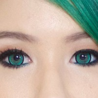 GEO Nova Green Cosmetic Colored Circle Lens Contacts
