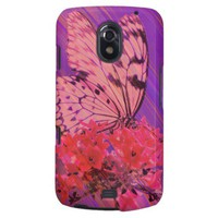 Butterfly, Flower, and a lot of Purple Samsung Galaxy Nexus Cases from Zazzle.com