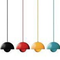 FlowerPot VP1 pendant light, by Verner Panton,  tradition