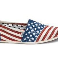 Stars and Stripes Women&#x27;s Vegan Classics | TOMS.com
