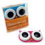 Amazon.com: Kikkerland Owl Contact Lens Case, Assorted Colors, Pink/Blue/Green: Health & Personal Care