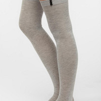 Jeweled Thigh-High Sock