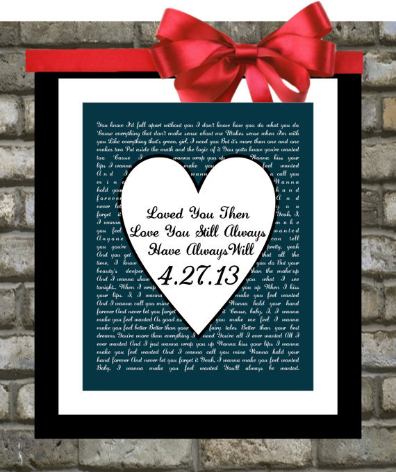 Unique Wedding Gifts For Him And Her : Gifts For Him or For Her. We... from Printsinspired on Wanelo