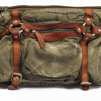 messenger bag /canvas bag/camera bag/Vintage bag/unisex/leather leisure bag/Washed canvas bag/ portable /shoulder bag/diagonal tote