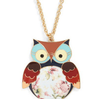 Hoot Couture Necklace | Mod Retro Vintage Necklaces | ModCloth.com