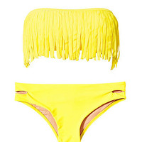 Bandau Fringes Bikini, Hot Anatomy