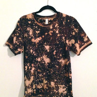 Bleach Splatter T-Shirt Size Medium