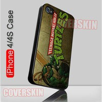 Michelangelo TMNT Teenage Mutant Ninja Turtles iPhone 4 or 4S Case Cover