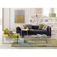 movie steel sofa in sofas | CB2