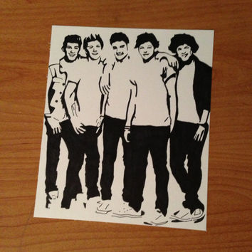One Direction Pop Art from harrysfirstwife on Etsy | things