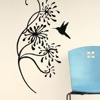 Bird + Twig Decal - Decals - Wall