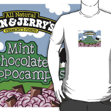 Ben & Jerry's & Zombies by mockingbird23