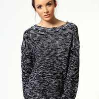 Zoe Knit Jumper with Metallic Stitch