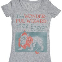 The Wizard of Oz book cover t-shirt | Outofprintclothing.com