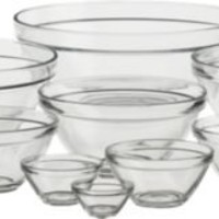 Nine-Piece Glass Bowl Set