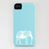 Animals Illustration - Damask Elephant iPhone Case by ialbert | Society6