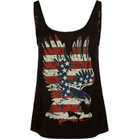 FULL TILT American Eagle Womens Tank 214433100 | Graphic Tees & Tanks | Tillys.com