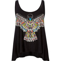 WORKSHOP Ethnic Eagle Womens Tank 210780100 | Graphic Tees & Tanks | Tillys.com