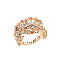 Feather ring - rings - Women's jewelry - J.Crew
