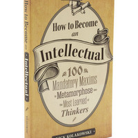 How to Become an Intellectual | Mod Retro Vintage Books | ModCloth.com