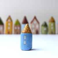 Little Home No 115 - Little Decorative Clay House | Luulla