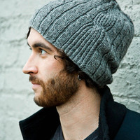 Men's Hat Knitting Pattern - Bartek (Pattern PDF)